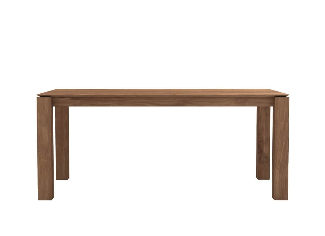Ethnicraft - Teak Slice Dining Table - 180x90x76 cm