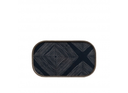 Ink Linear Squares Mini Tray