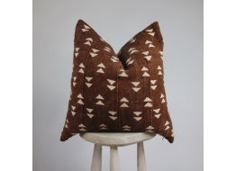 Yakira Rust Cushion Cover 45cm x 45cm